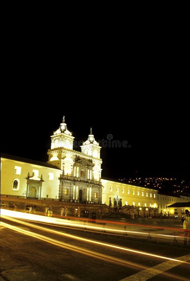 église Equateur image libre de droits