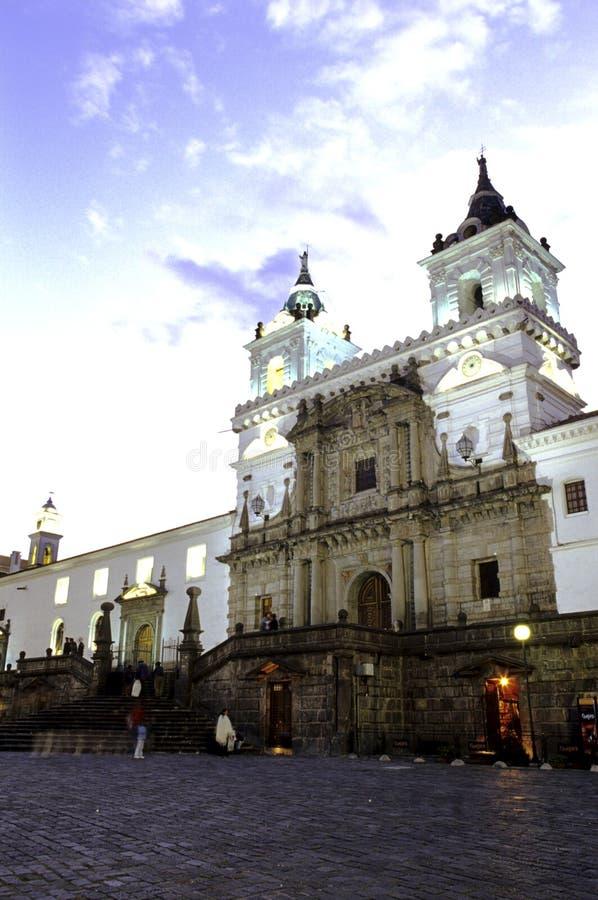 église Equateur photos libres de droits