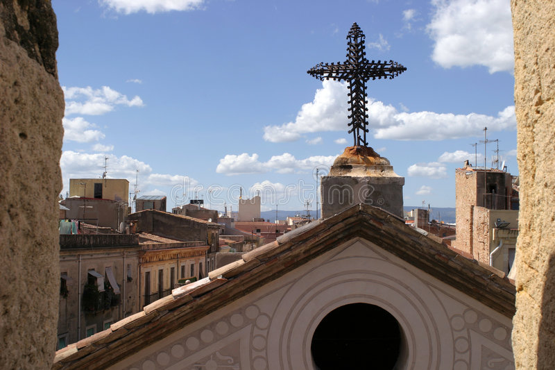 Église espagnole images libres de droits