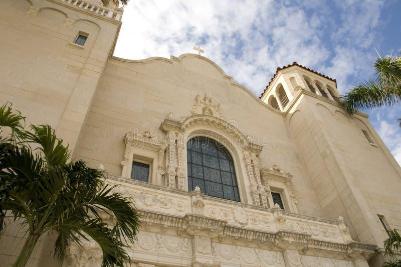 Église espagnole de type photos libres de droits