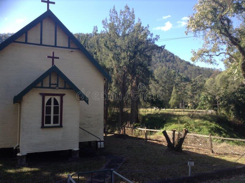 Église et horizontal photographie stock libre de droits