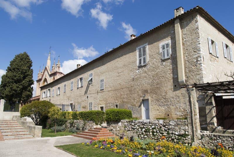 Église et monastère franciscains de Cimiez La France agréable images stock