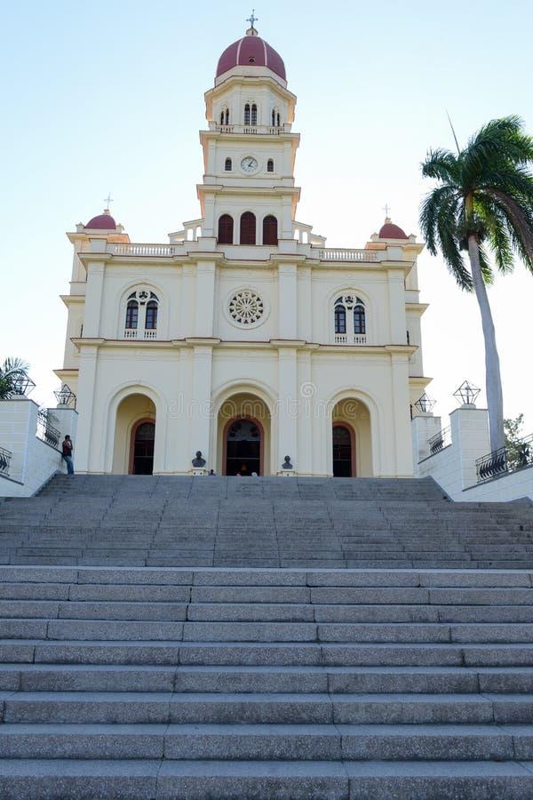 Église et sanctuaire d'EL Cobre photo libre de droits