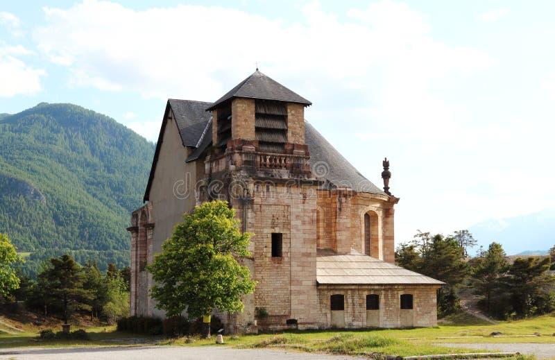 Église française de St Louis dans le Mont-dauphin images stock
