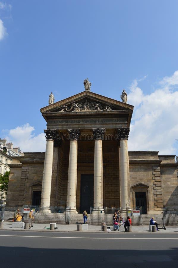 Église française, Eglise Notre-Dame-De-Lorette, Paris photos stock