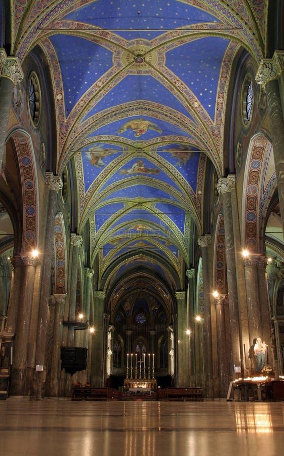 Église gothique images libres de droits
