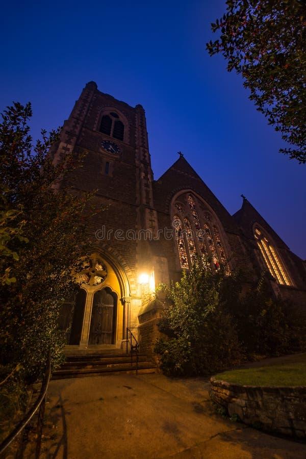 Église Guildford Surrey Angleterre du Christ image stock