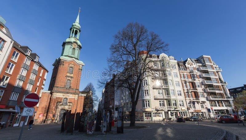 Église Hambourg Allemagne de St Georg images stock