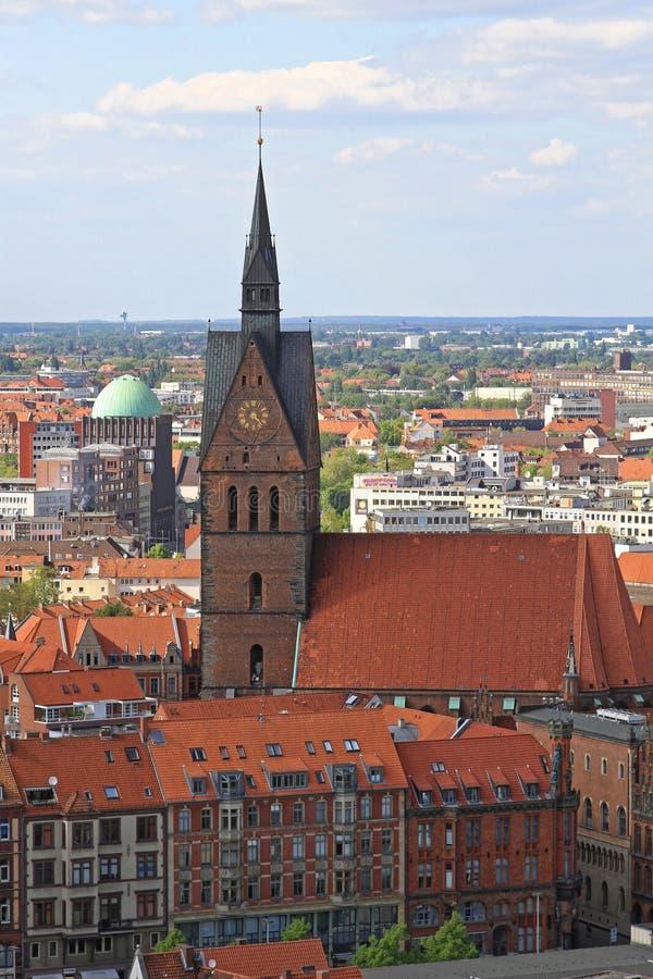 Église Hanovre de Marktkirche photographie stock
