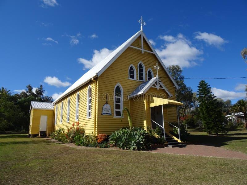Église historique à Bell, Australie image libre de droits
