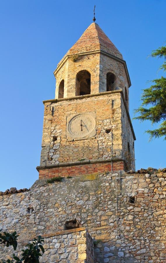 Église historique Bovino La Puglia l'Italie image stock
