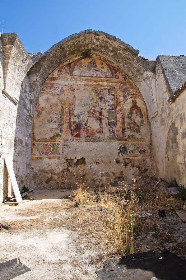 Église historique Laterza La Puglia l'Italie photo libre de droits