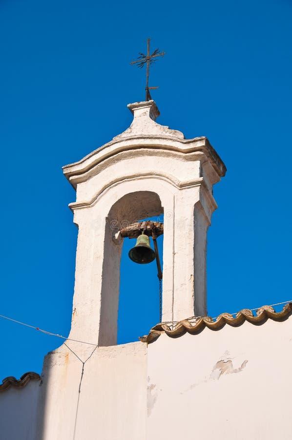 Église historique Rutigliano La Puglia l'Italie image libre de droits