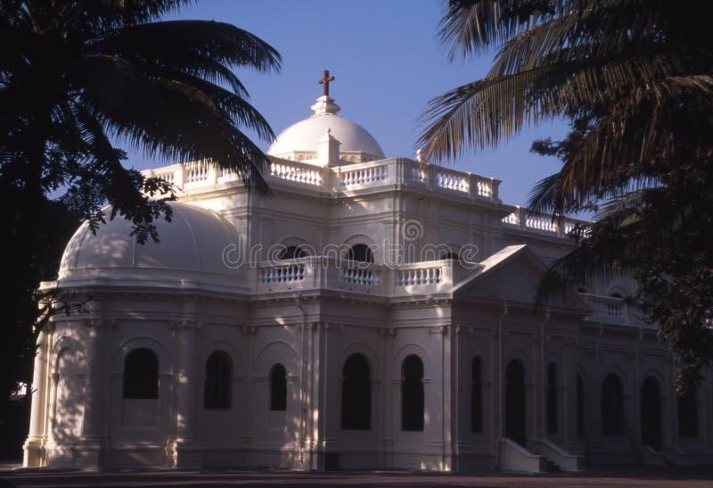 Église indienne photos stock