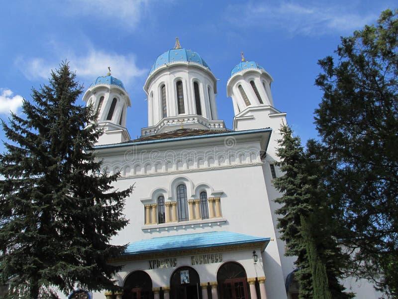 Église ivre dans l'arhite parfait de Chernivtsi photos libres de droits