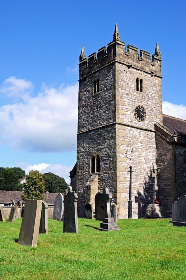 Église, l'Ashford-dans-le-eau photo stock