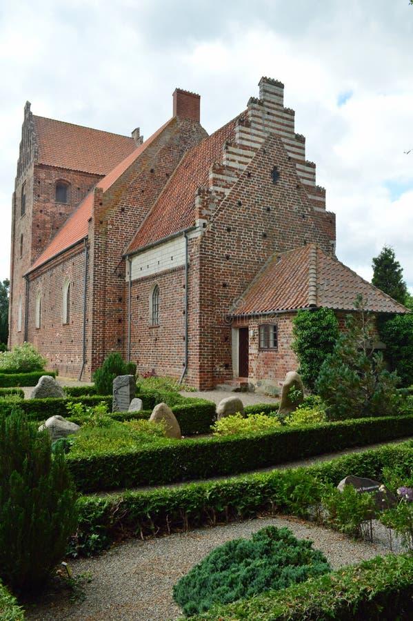 Église Møn de Keldby photo libre de droits