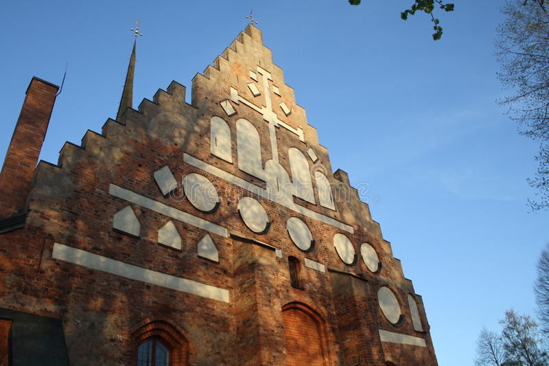 Église médiévale images libres de droits