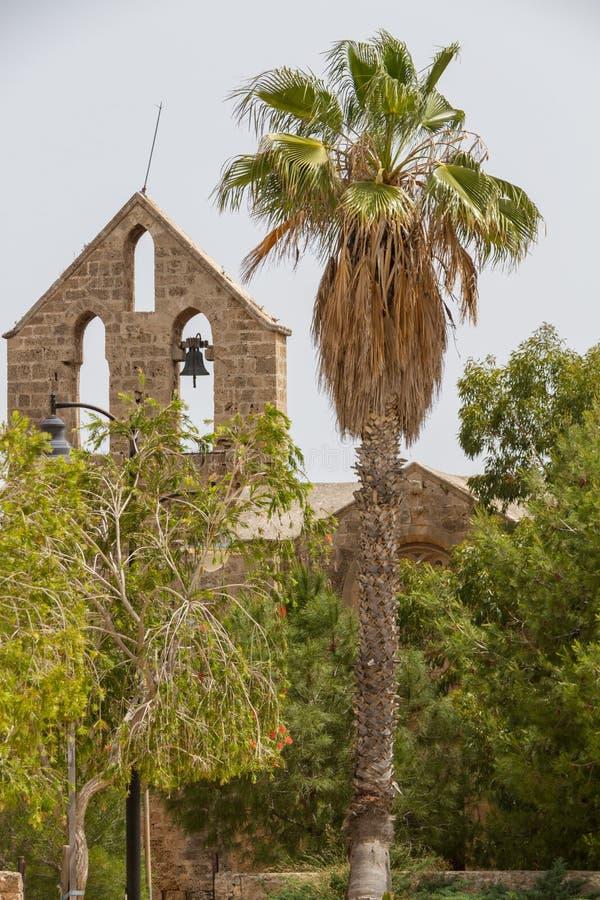 Église médiévale de Nestorian de St George l'Exiler- Exorinos dans F photo libre de droits