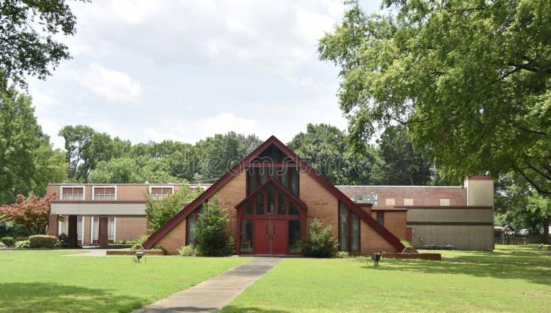 Église Méthodiste Unie d'Aldersgate, Memphis, TN photo libre de droits