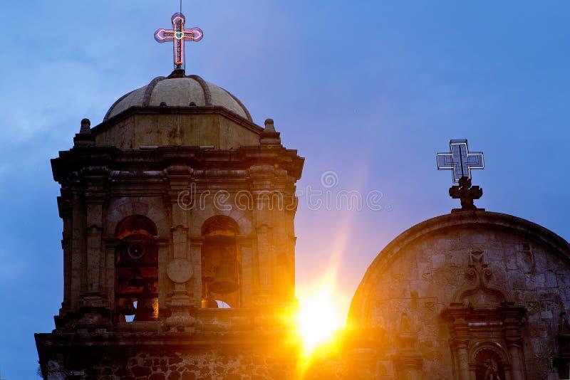 Église mexicaine image stock