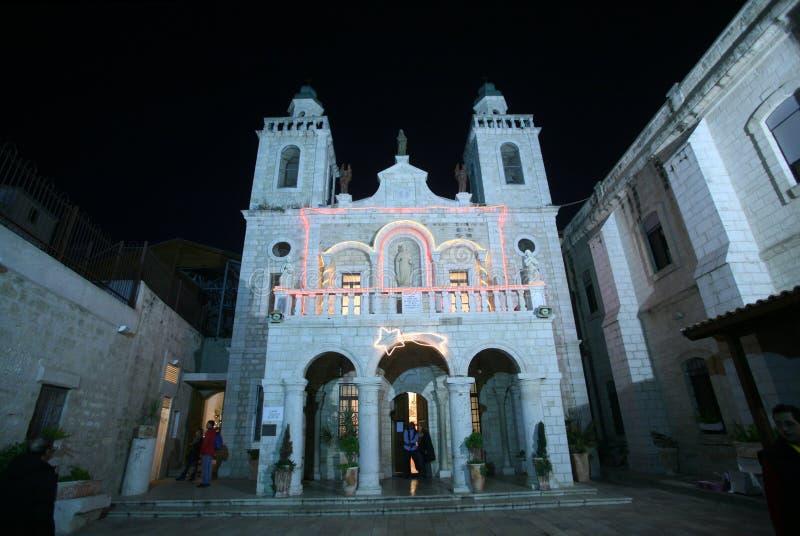 Église miracle de ` de Jésus de premier dans Cana photographie stock libre de droits