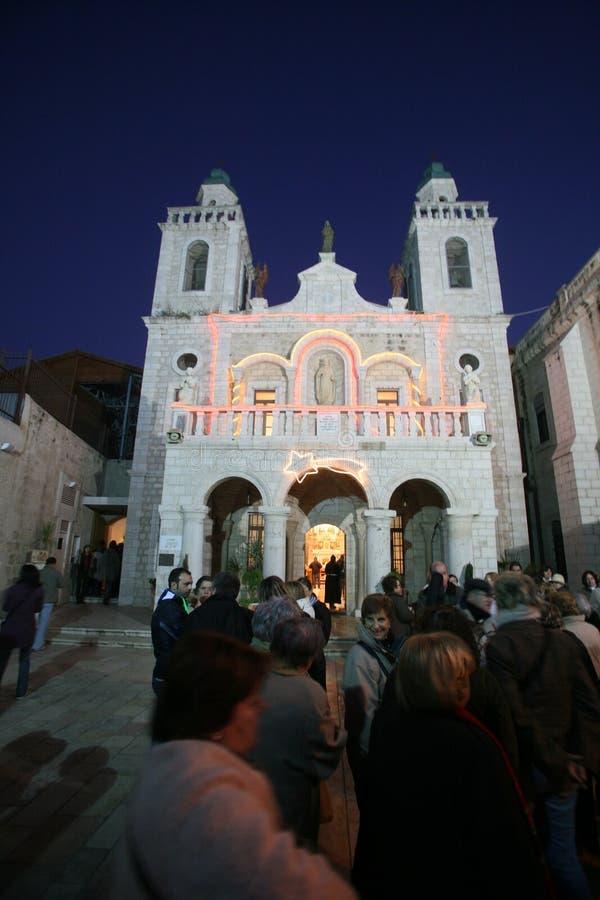 Église miracle de ` de Jésus de premier dans Cana photo libre de droits