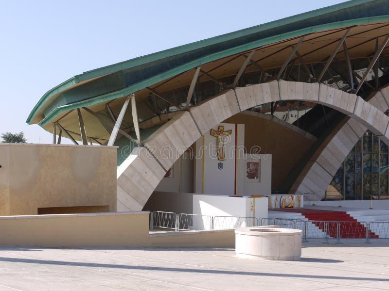 Église moderne d'architecture image libre de droits