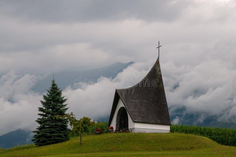 Église moderne en Autriche images libres de droits