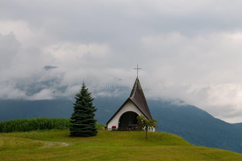 Église moderne en Autriche image libre de droits