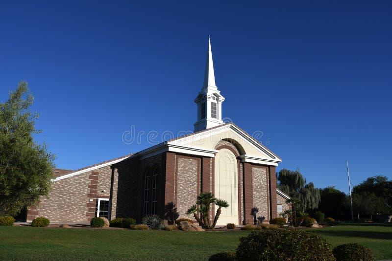 Église mormone photographie stock libre de droits
