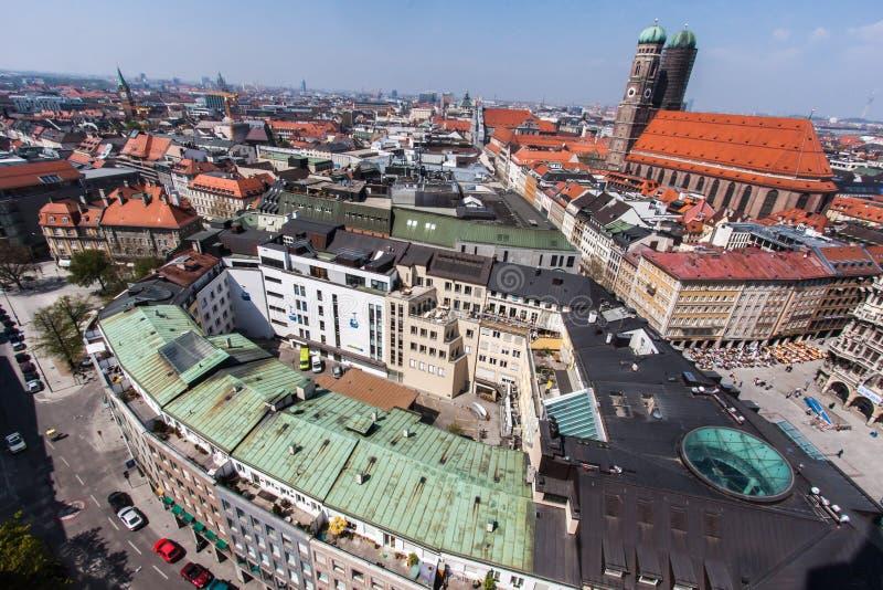 Église Munich Allemagne de Frauenkirche images libres de droits