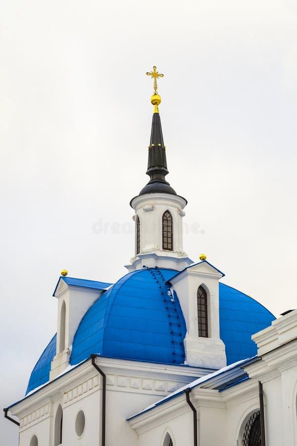 Église néogothique russe photographie stock libre de droits