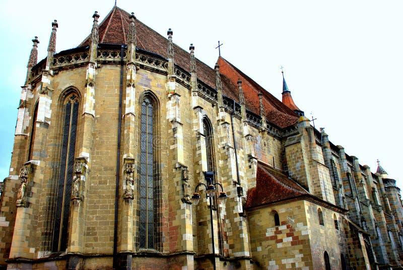 Église noire, Brasov-Roumanie images libres de droits