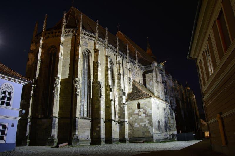 Église noire, Brasov, Roumanie photo libre de droits
