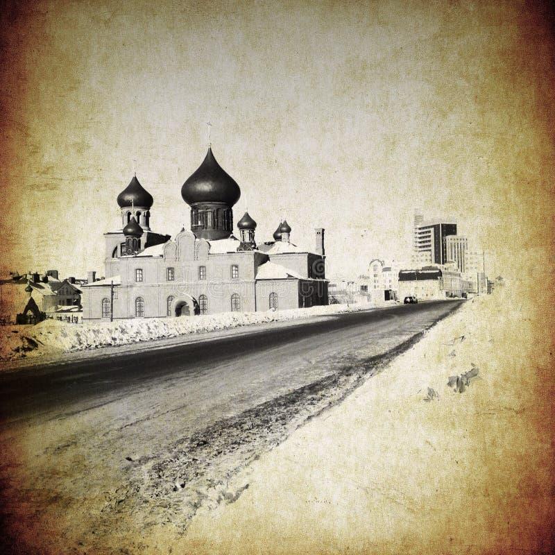 Église orthodoxe photo stock