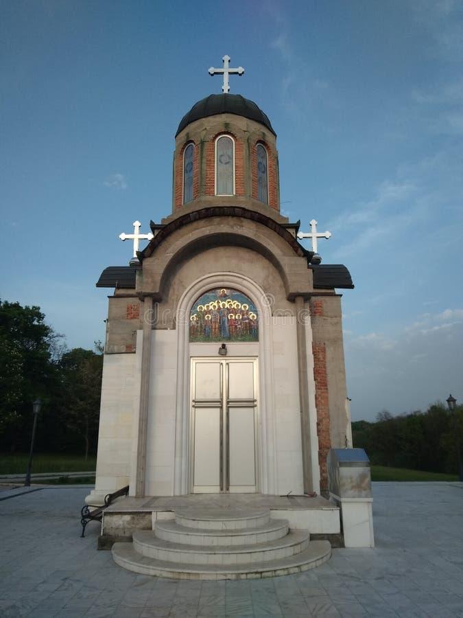 Église orthodoxe dans Kragujevac images libres de droits