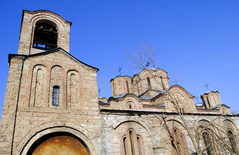 Église orthodoxe dans Prizren, Kosovo photos stock