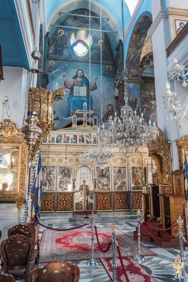 Église orthodoxe de la présentation du seigneur image stock