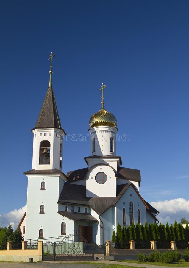 Église orthodoxe en Lithuanie photos stock