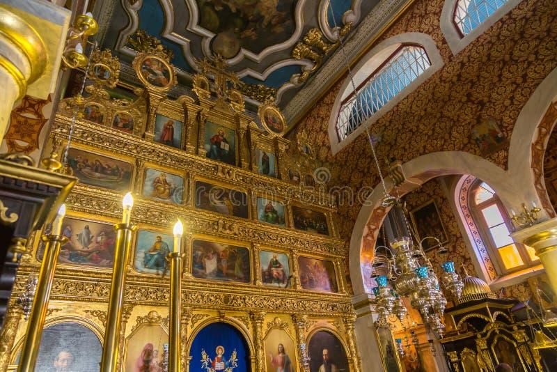 Église orthodoxe grecque images libres de droits