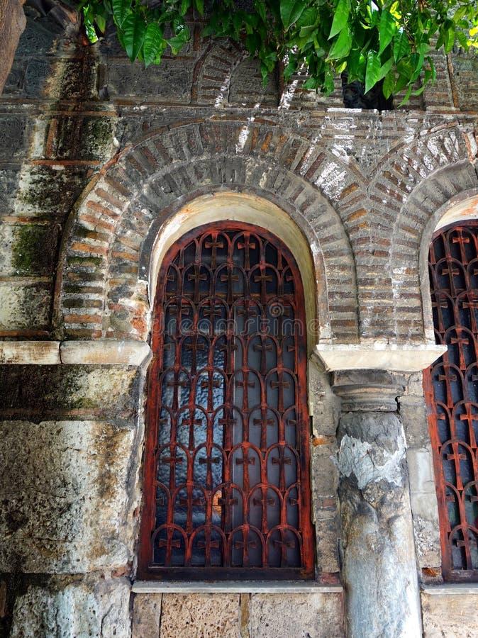 Église orthodoxe grecque bizantine, Grèce images stock