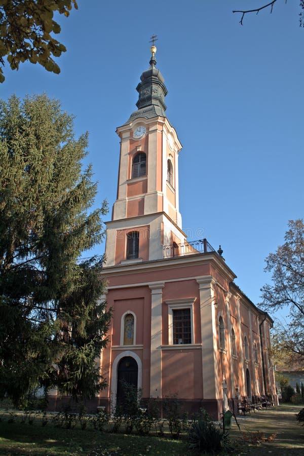 Église orthodoxe orientale, Senta, Serbie photo stock