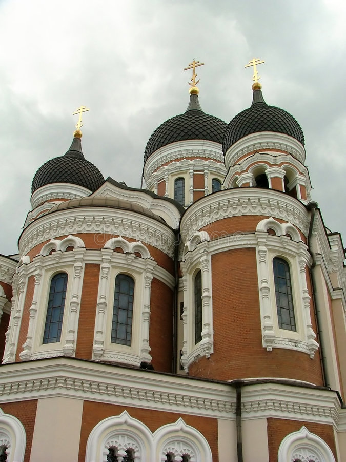 Église orthodoxe russe photo stock