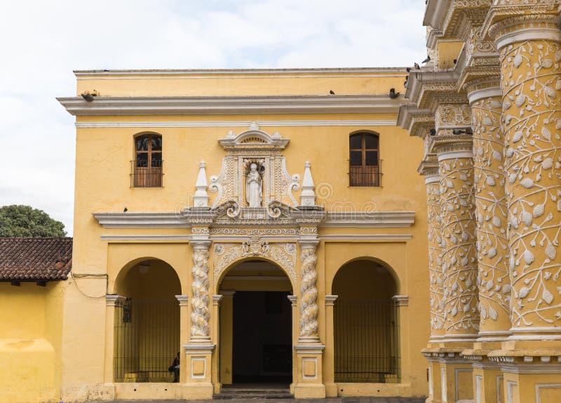Église ou temple au Guatemala image stock