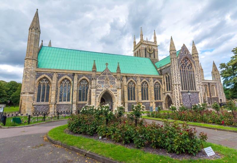 Église paroissiale anglaise à Great Yarmouth - en Angleterre image libre de droits