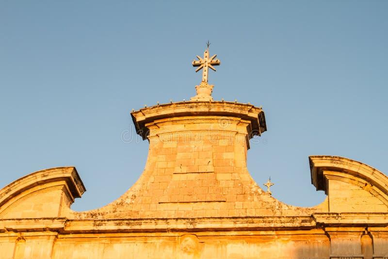 Église paroissiale de Balzan photo libre de droits