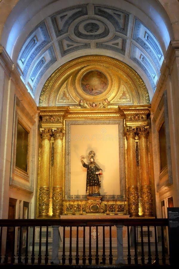 Église portugaise - foi et art du Portugal photographie stock
