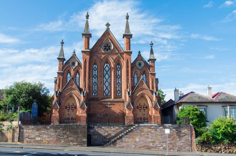 Église presbytérienne de Castlemaine images stock