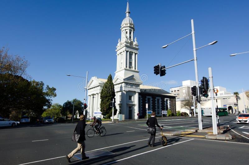 Église presbytérienne Saint Andrews à Auckland image libre de droits